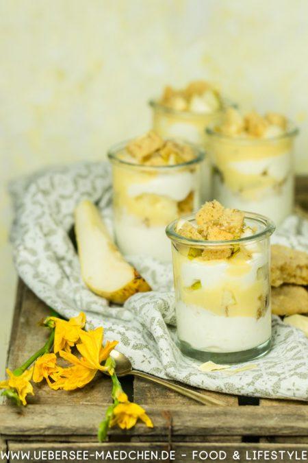 Eierlikör-Rezept mit Sahnequark Birnen Cookies einfach schnell Rezept