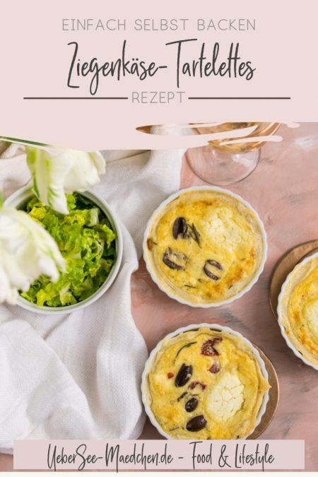 Titelbild für Rezept Ziegenkäse-Tartelettes mit französischen Zutaten von ÜberSee-Mädchen Foodblog vom Bodensee Konstanz
