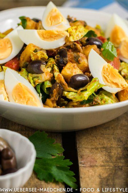 Orientalischer Kartoffelsalat mit Eiern nach Ottolenghi