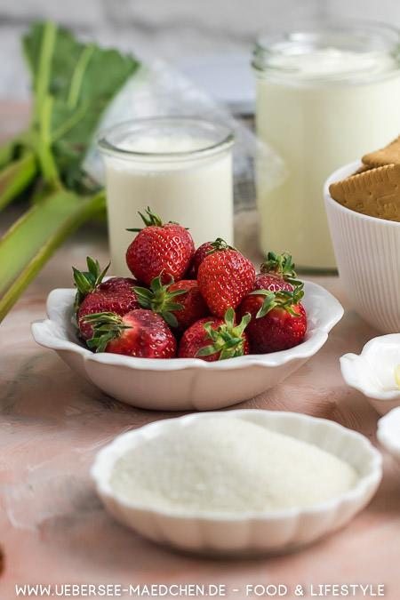 Zutaten für Joghurt-Torte ohne Backen