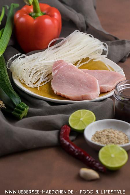 Zutaten für Teriyaki-Pfanne Rezept von ÜberSee-Mädchen Foodblog vom Bodensee