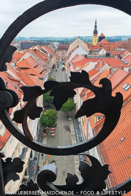 Blick vom Reichenturm in Bautzen auf die Altstadt Sachsen Guide von ÜberSee-Mädchen Foodblog vom Bodensee