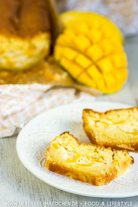 Mango-Schmand-Kuchen einfaches Rezept von ÜberSee-Mädchen Foodblog vom Bodensee