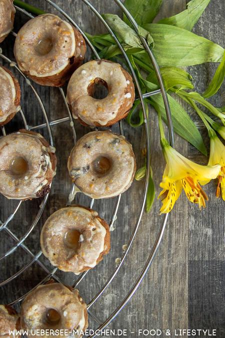 Donuts im Miniformat ohne Frittieren Rezept von ÜberSee-Mädchen Foodblog vom Bodensee