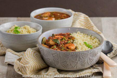 Schnelles orientalisches Couscous fertig nach 15 Minuten Rezept von Jamie Oliver bei ÜberSee-Mädchen Foodblog vom Bodensee