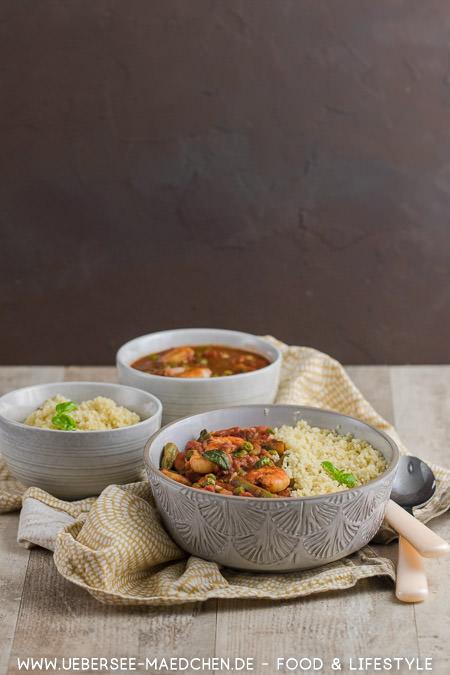 Marokkanisches Couscous ist perfekt für den Feierabend weil schnell und einfach gekocht nach Jamie Oliver