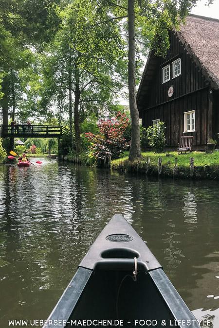 Paddeln im Spreewald in Lehde mit Kanadier Reisebericht von ÜberSee-Mädchen