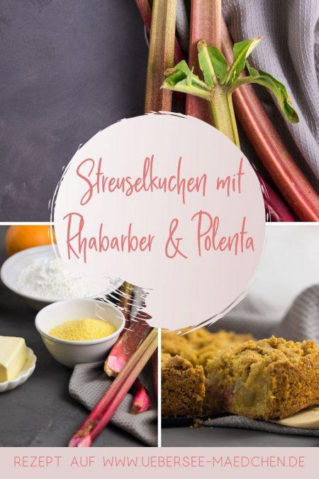 Streuselkuchen mit Rhabarber und Polenta extra knusprig nach Nigel Slater Rezept von ÜberSee-Mädchen Foodblog vom Bodensee Konstanz