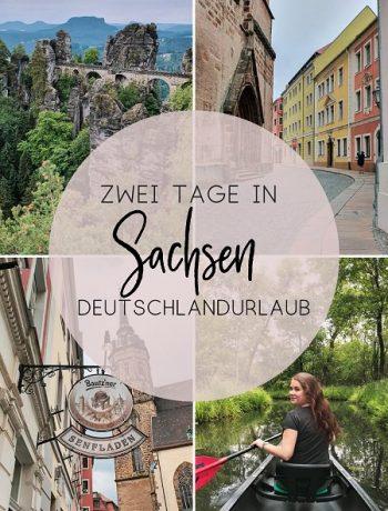 Deutschlandurlaub in Sachsen: Ausflug in Spreewald, nach Bautzen und in die Sächsische Schweiz Guide von ÜberSee-Mädchen