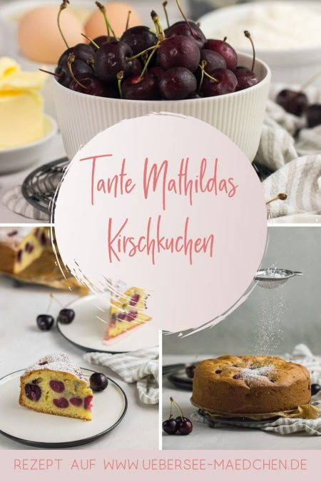 Tante Mathildas Kirschkuchen wie bei den drei Fragezeichen Rezept von ÜberSee-Mädchen Foodblog vom Bodensee