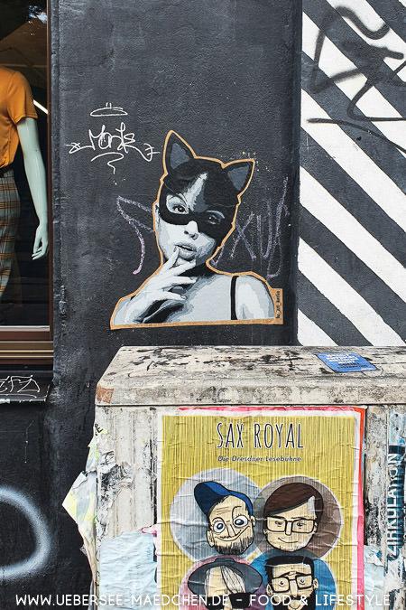 Streetart in der Dresdner Neustadt
