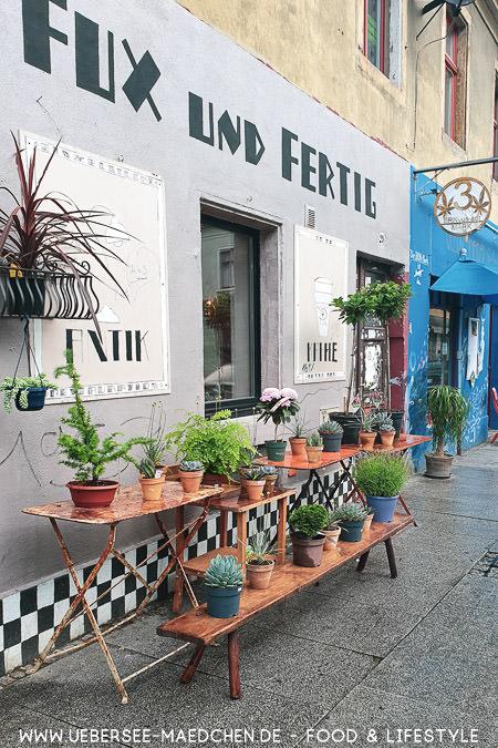 Eines der schönen Geschäfte in der Dresdner Neustadt im Travelguide von ÜberSee-Mädchen Foodblog vom Bodensee