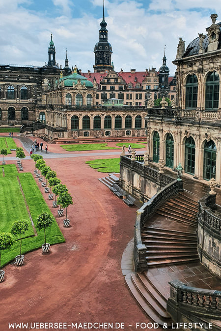 Blick auf den Zwinger in Dresden Travel-Guide von ÜberSee-Mädchen