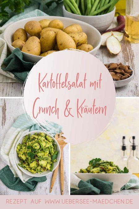 Portugiesischer Kartoffelsalat mit Mandelcrunch und Petersilienpesto Rezept von ÜberSee-Mädchen Foodblog vom Bodensee