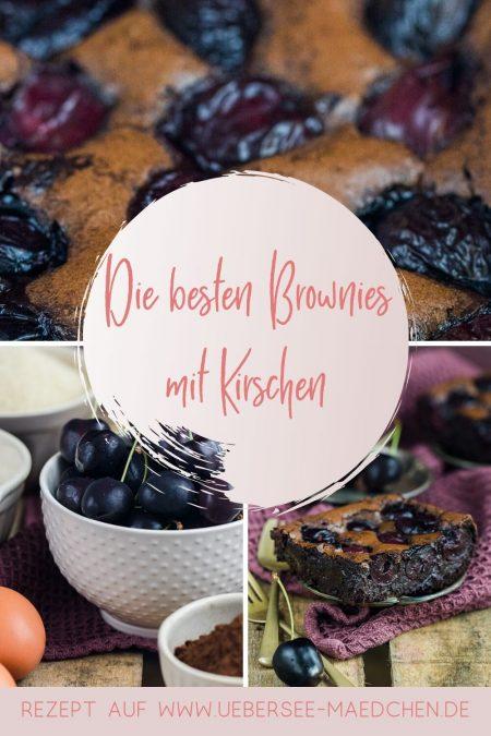 Rezept für die besten und megasaftigen Brownies mit Kirschen Kirsch-Brownies von ÜberSee-Mädchen Foodblog vom Bodensee Konstanz