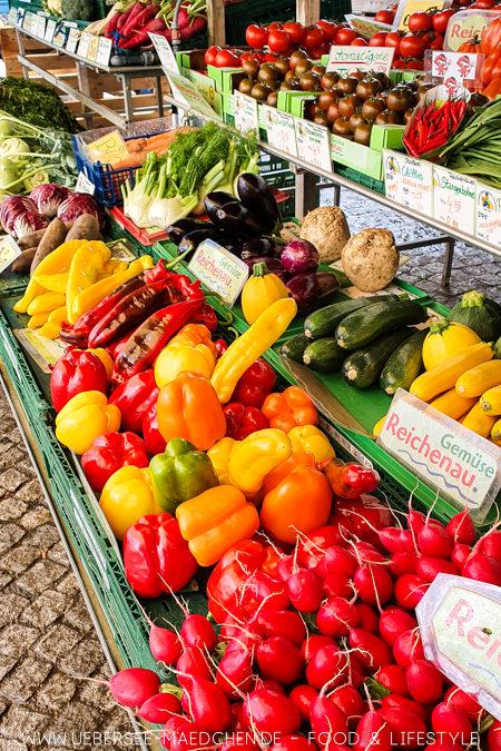 Gemüse frisch von der Insel Reichenau - ein Ausflugstipp für Konstanz vom ÜberSee-Mädchen