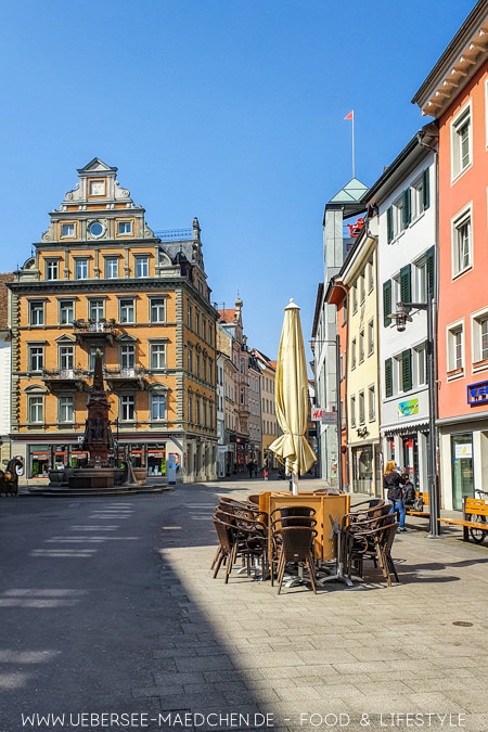 Die Konstanzer Marktstätte ist zentraler Ausgangsplatz