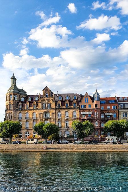 Die Seestraße in Konstanz