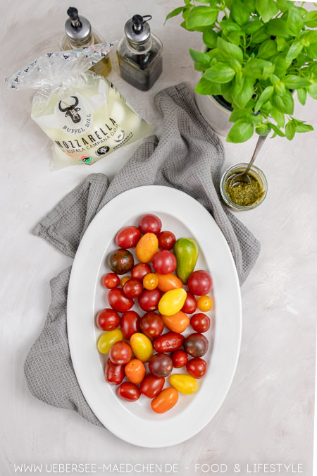 Im Sommer sind diese Tomaten für Tomaten-Mozzarella-Salat besonders hübsch und lecker
