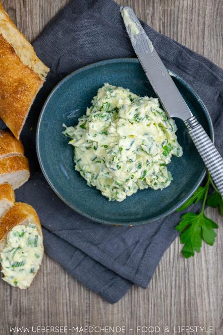 Würzige Kräuterbutter ideal zum Grillen Rezept von ÜberSee-Mädchen Foodblog vom Bodensee
