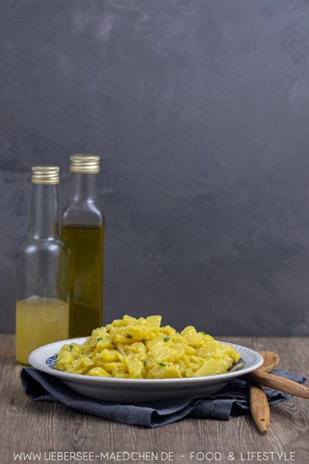 Schwäbischer Kartoffelsalat mit Brühe ohne Mayo nach Familienrezept von ÜberSee-Mädchen Foodblog vom Bodensee