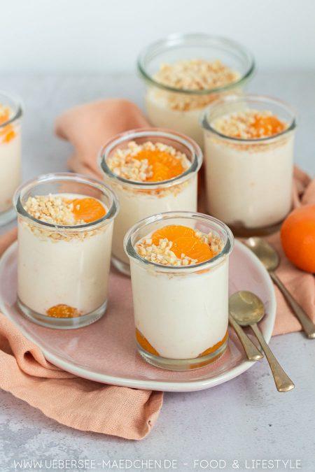 Mandarinencreme Dessert mit Joghurt Sahne nach Landfrauen Rezept von ÜberSee-Mädchen Foodblog vom Bodensee