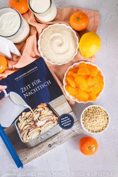 """Rezension """"Zeit für Nachtisch"""" von den Landfrauen ein Kochbuch mit Desserts"""
