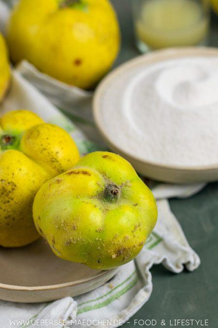 Quittengelee selbst machen Rezept von ÜberSee-Mädchen Foodblog vom Bodensee
