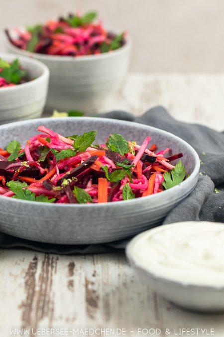 Wurzelgemüse Salat wie in Jerusalem nach Ottolenghi