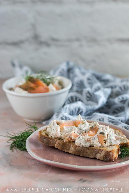 Einfacher Aufstrich mit Lachs Rezept für Frühstück Brunch