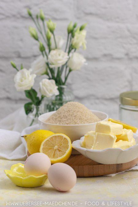 Zutaten für Lemon Curd wie in England