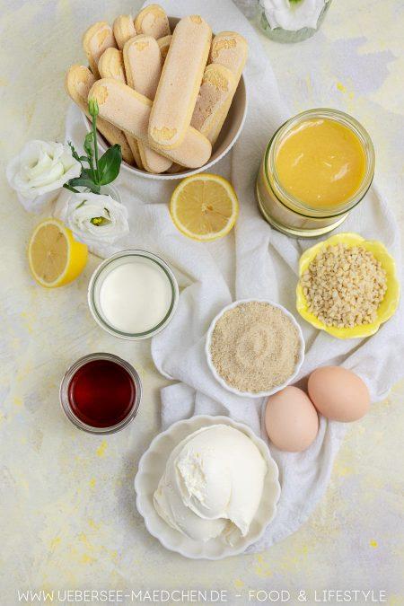 Zutaten für zitroniges Tiramisu mal anders Rezept