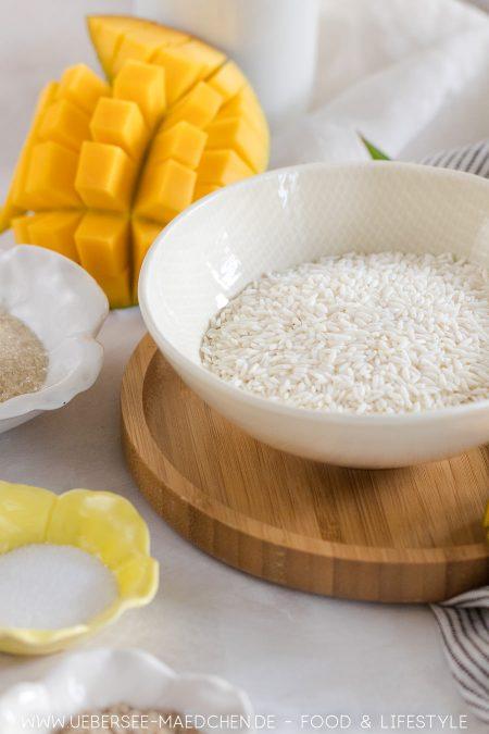 Wenige Zutaten machen Klebreis richtig lecker, ob als Dessert oder süßes Hauptgericht
