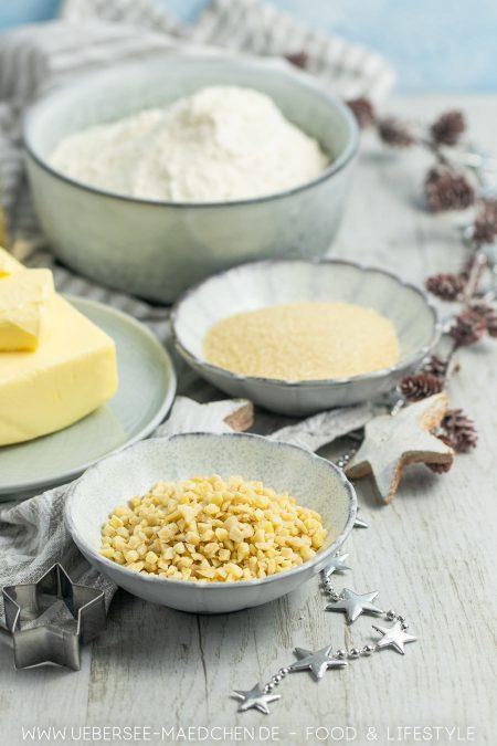 Für Weinkränzchen braucht es nicht viele Zutaten, denn sie sind einfache Butterplätzchen