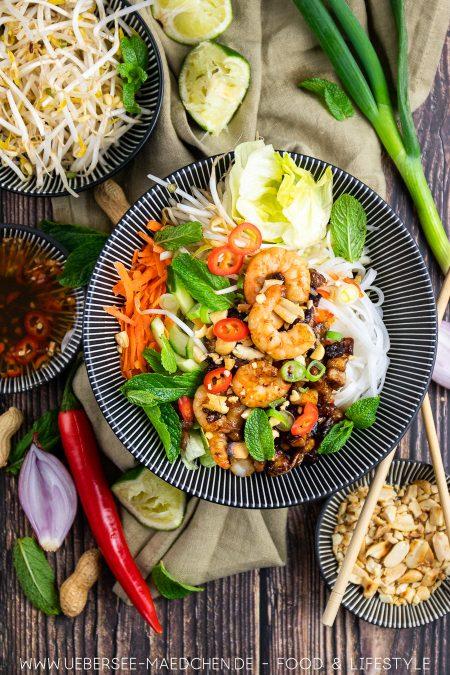 Bun Cha Bowl nach Jamie Oliver Rezept von ÜberSee-Mädchen der Foodblog vom Bodensee