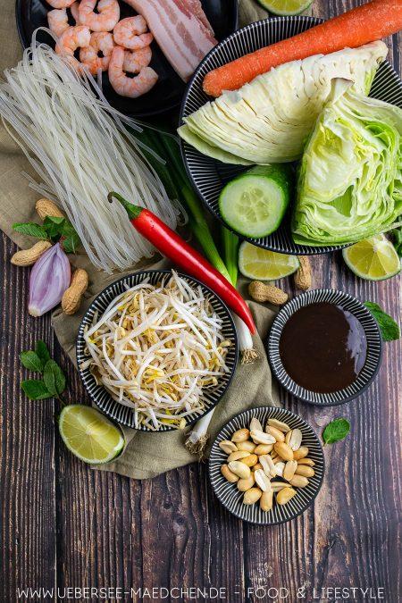 Zutaten für eine vietnamesische Bowl nach Jamie Oliver wie Bun Cha