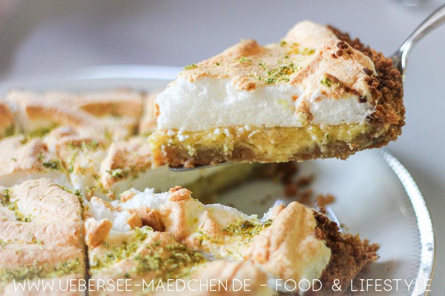 Amerikanische Zitronentarte mit Baiser alias Key-Lime-Pie Rezept von ÜberSee-Mädchen Foodblog vom Bodensee