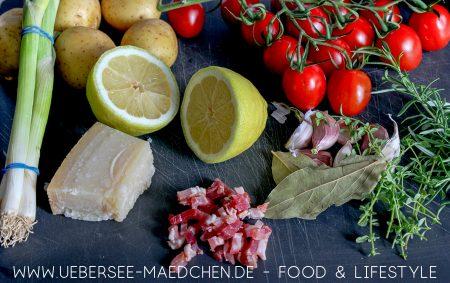 Zutaten für Jamie Olivers Ofen-Hähnchen