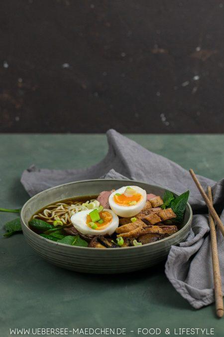 Japanische Ramen mit Ente und Ei nach Stevan Paul Rezept