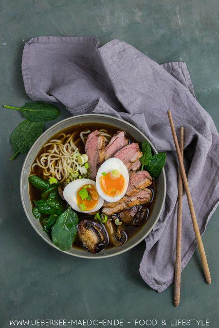 Ramen-Suppe mit Ente Stevan Paul Rezept von ÜberSee-Mädchen der Foodblog vom Bodensee