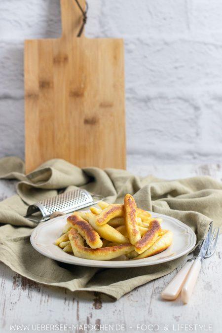 Schwäbische Schupfnudeln selbstgemacht aus Kartoffeln Rezept von ÜberSee-Mädchen der Foodblog vom Bodensee