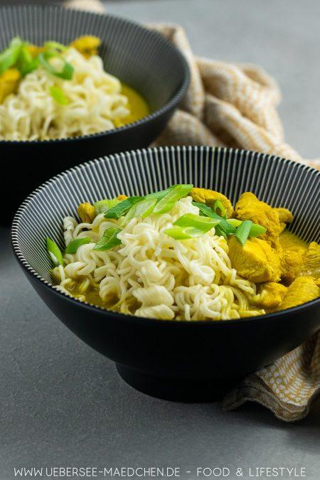 Asiatische Suppe mit Hühnchen Kokosmilch Tikka Masala Rezept von ÜberSee-Mädchen Foodblog vom Bodensee