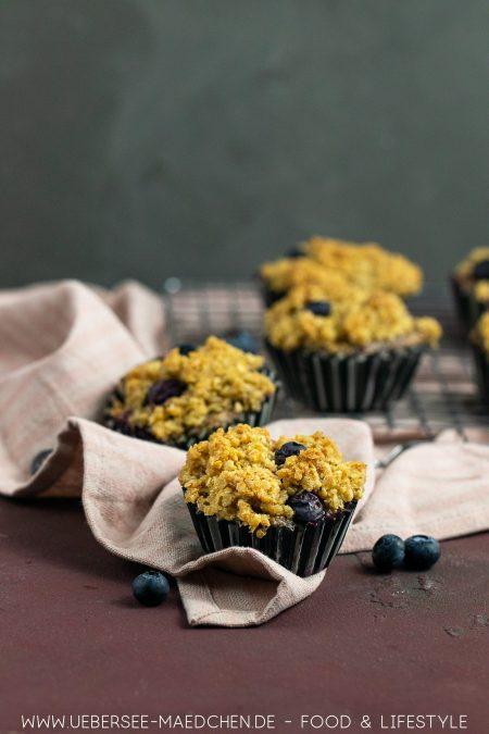 Gesündere Muffins zum Frühstück mit kaum Zucker