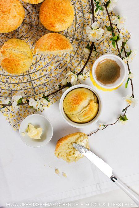 Kleine Brioche aus der Muffinform selbstgemacht Rezept