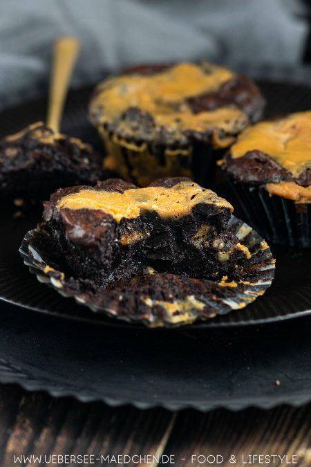 Brownies mit Salzkaramell
