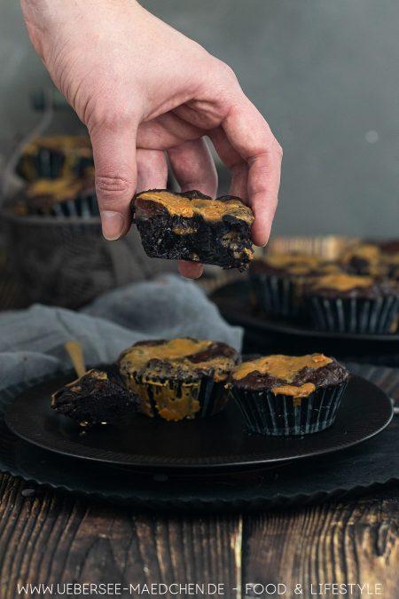 Brownies mit Salzkaramell Rezept von ÜberSee-Mädchen Foodblog vom Bodensee