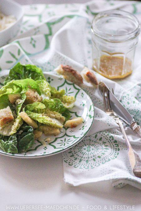 Original-Rezept für Caesar Salad von ÜberSee-Mädchen Foodblog vom Bodensee