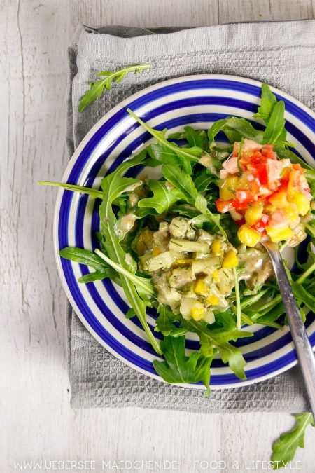 Fischtatar mit Lachstatar Thunfischtatar Rezept von ÜberSee-Mädchen Foodblog vom Bodensee