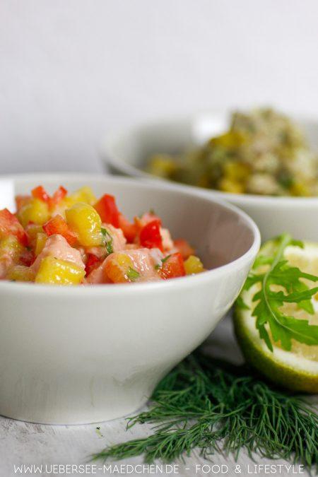 Lachstatar ist eine Version von Fischtatar Rezept für Vorspeise