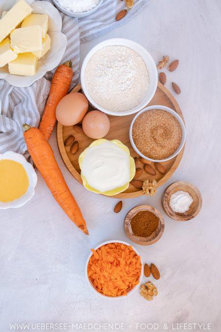 Karotten-Muffins mit Frischkäse-Frosting Rezept